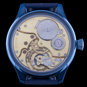 Zenith - Circa 1920 Movement with New Custom Case