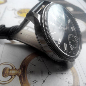 Tiffany & Co. - Exquisite Pre-1920 Movement with Restored Original Dial and New Custom Case