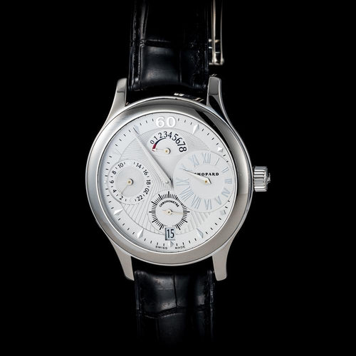 Chopard 18k White Gold LUC Regulator