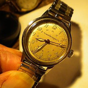 Extremely Rare Girard Perregaux Wrist Watch 1945