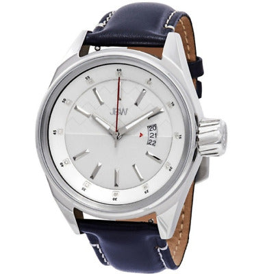 JBW - JBW J6287 Mens Rook Navy Leather Watch