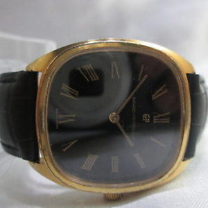 Girard Perregaux Gold Plated Hand Wind Watch Circa 1970