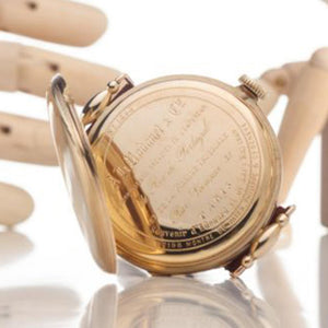 Patek Philippe - Antique Movement with Solid Gold 18kt. Gold Case