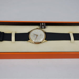 Vintage Hermes Paris - Signed - Swiss Made - Textured Dial