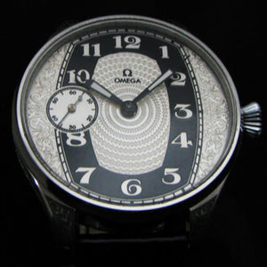 Omega - Circa 1910 Antique Large Art Deco Wrist Watch