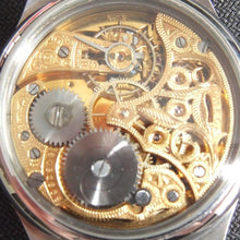 Omega - Antique Movement - Circa 1920 - with Custom Made Case and Skeleton Dial