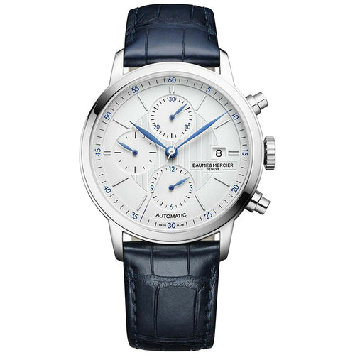 Baume et Mercier Classima Automatic Chronograph Leather Band