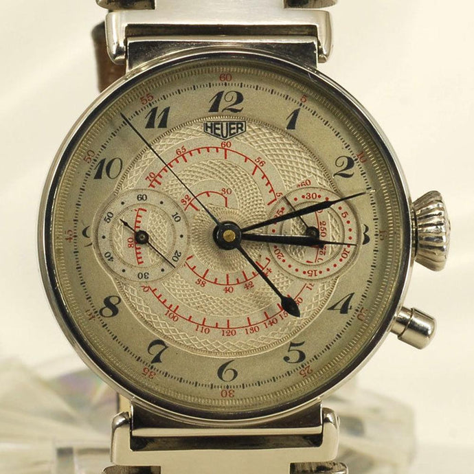 TAG Heuer - Astoundingly Rare Chronograph Timepiece - This Watch Pre-dates the Formation of TAG Heuer