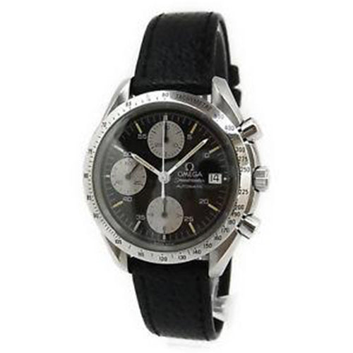 Omega - Speedmaster Chronograph Automatic Date Watch 3511.50 Cal.1152 Leather Band