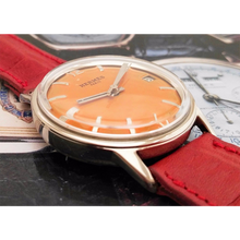 Hermès - Vintage Orange Dial with Date from 1945