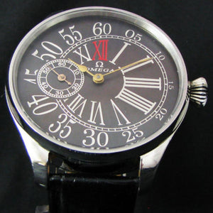 Omega - Antique 1911 Large Art Deco Wristwatch