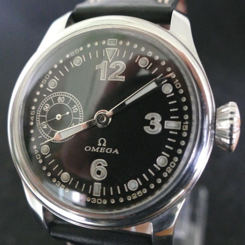 Omega - Circa 1920 Military Pilot Watch - 42mm with 15 Jewels