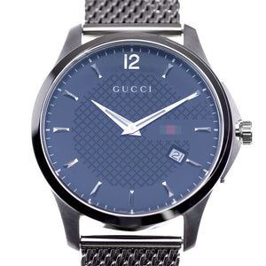 Gucci G - Timeless Black Checkered Dial