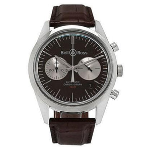 Bell & Ross Vintage Officer BR-126 in Brown Limited Edition