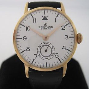 Breitling 1960's Gold Plated Watch