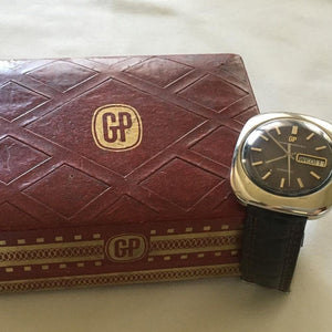 Girard-Perregaux Gyromatic Stainless Steel Men's
