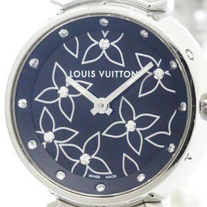 Louis Vuitton - Ladies Diamond Tambour - Metal Bracelet