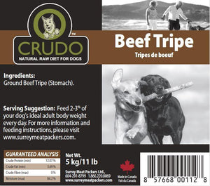 Ground Green Beef Tripe - Modern Kibble