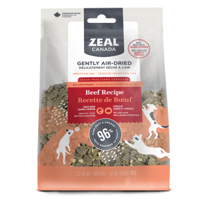 Zeal Canada Dog GF Air-Dried Beef w/ Freeze Dried Salmon & Pumpkin