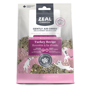 Zeal Canada Dog GF Air-Dried Turkey w/ Freeze Dried Salmon & Pumpkin