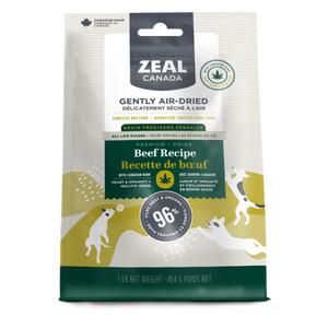 Zeal Canada Dog GF Air-Dried Beef & Hemp 454 g