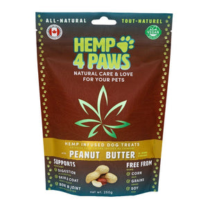Hemp 4 Paws Peanut Butter Treats 250g