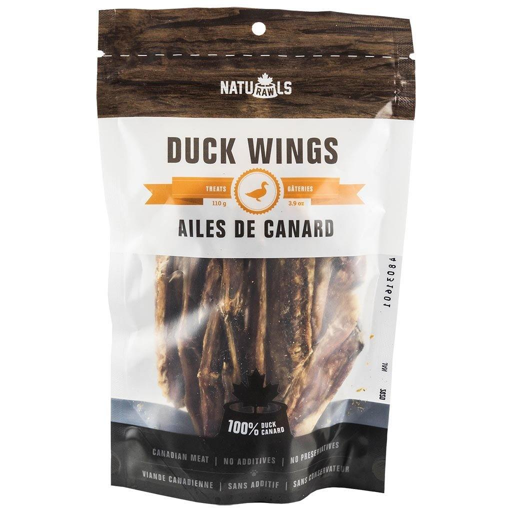 Naturawls Dehydrated Duck Wings 110G - Modern Kibble