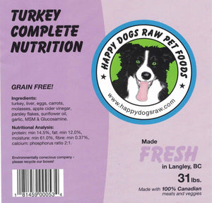 Turkey Complete Nutrition Blend - Modern Kibble