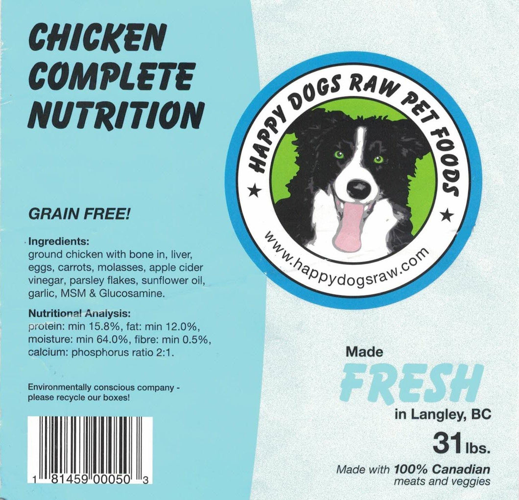 Chicken Complete Nutrition Blend - Modern Kibble