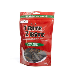 1 Bite 2 Bite Air Dried Duck Heart - Modern Kibble