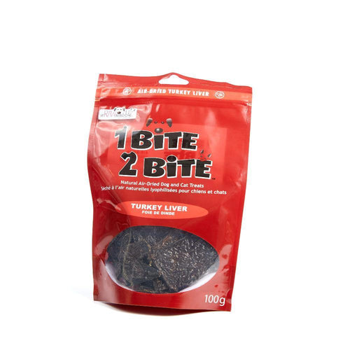 1 Bite 2 Bite Air Dried Turkey Liver - Modern Kibble