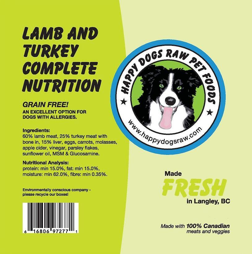 Lamb and Turkey Complete Nutrition Blend - Modern Kibble