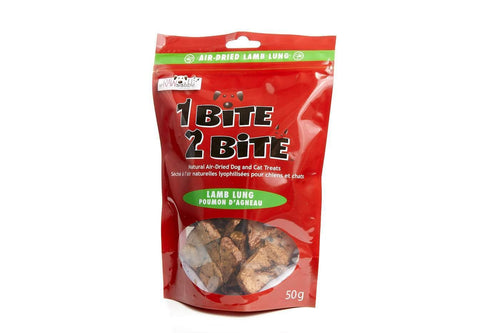 1 Bite 2 Bite Air Dried Lamb Lung - Modern Kibble