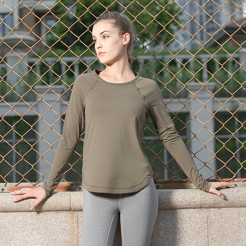Elysia Long Sleeve Sportswear Shirt