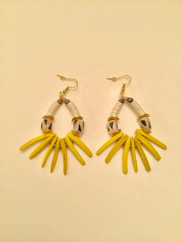 Ethopian Earrings E-0372, designed by Leyu Ambare Handmade Jewelry.