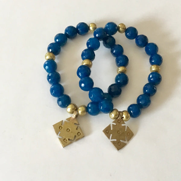 Single Stack Bracelet l Blue