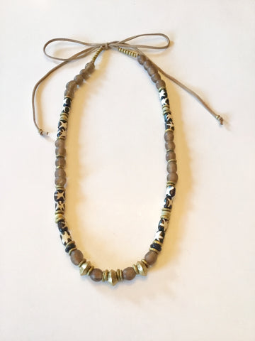 Ethopian Necklace N-0307, designed by Leyu Ambare Handmade Jewelry.
