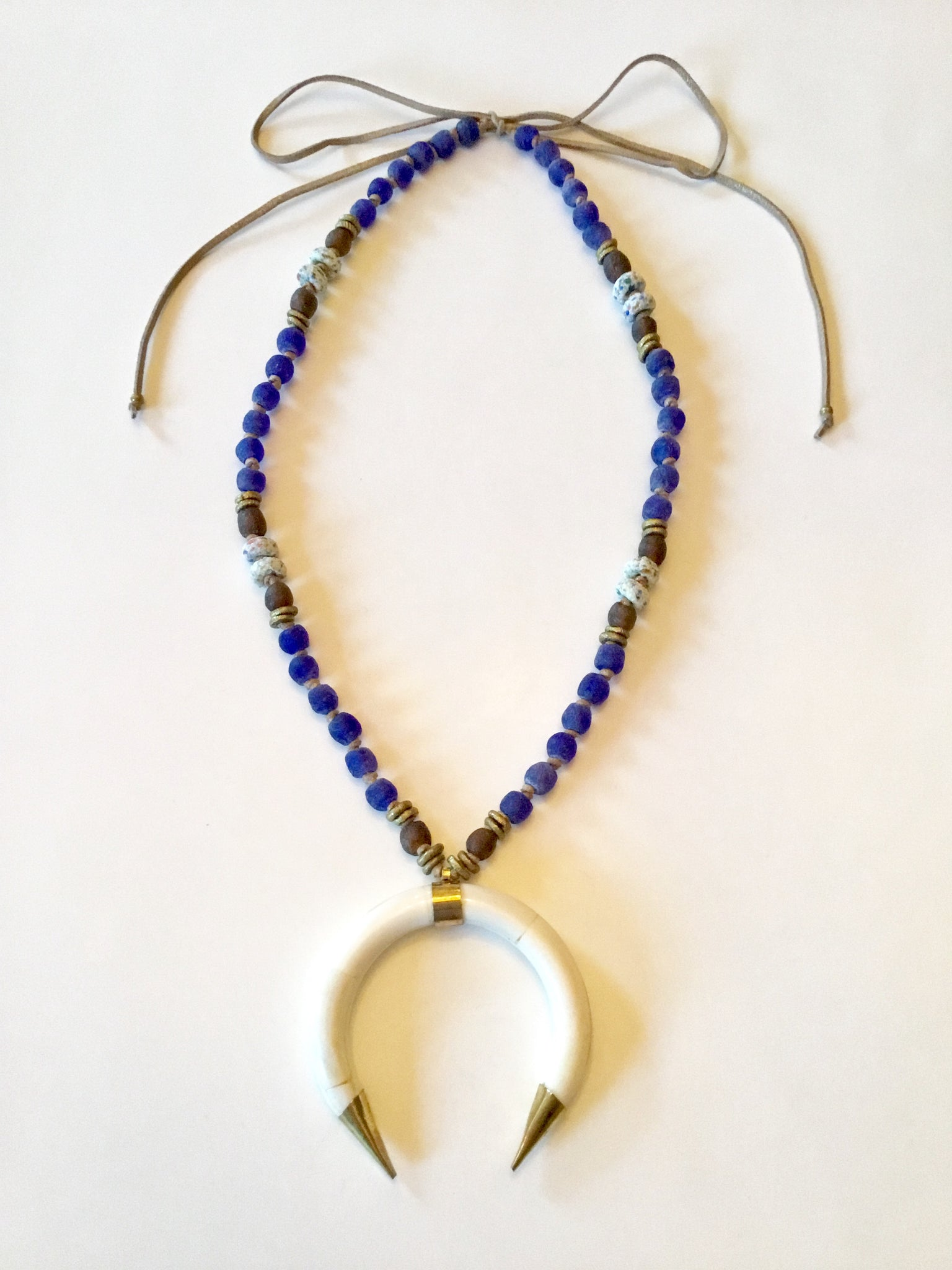 Ethopian Necklace N-0327, designed by Leyu Ambare Handmade Jewelry.