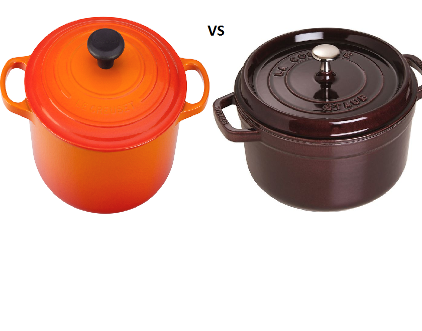 Le Creuset vs. Staub: What – really – is the difference?