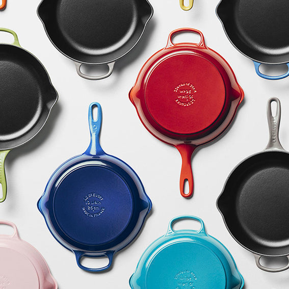 Le Creuset Cast Iron Skillets