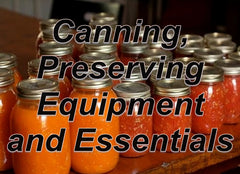 Canning and Preserving Equipment and Essentials