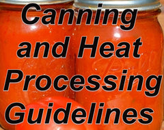 Tomato Canning and Heat Processing Guidelines