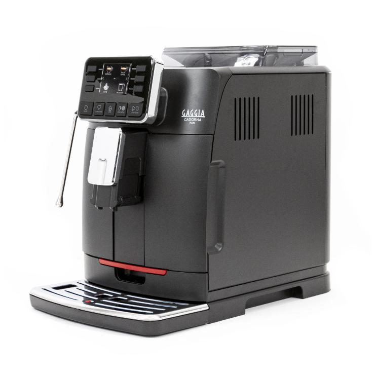 Gaggia Cadorna Barista Plus Automatic Espresso Machine Side Canada