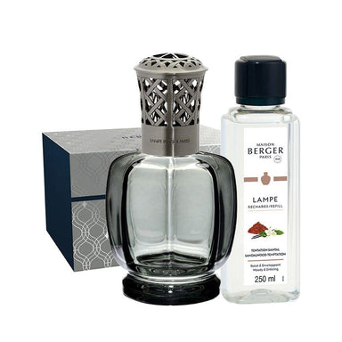 Maison Berger - Maison Berger Belle Epoque Grey Lamp Gift Set +180ml