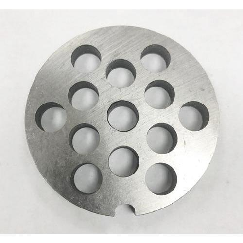 #5 Stainless Steel Meat Grinder Disc - 8mm-Consiglio's Kitchenware