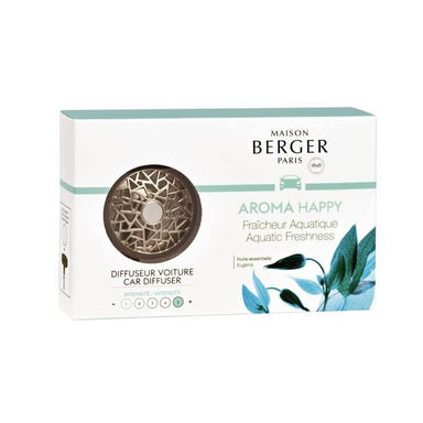 Maison Berger - Anti Odour Car Diffuser Aroma Happy - Aquatic Freshness