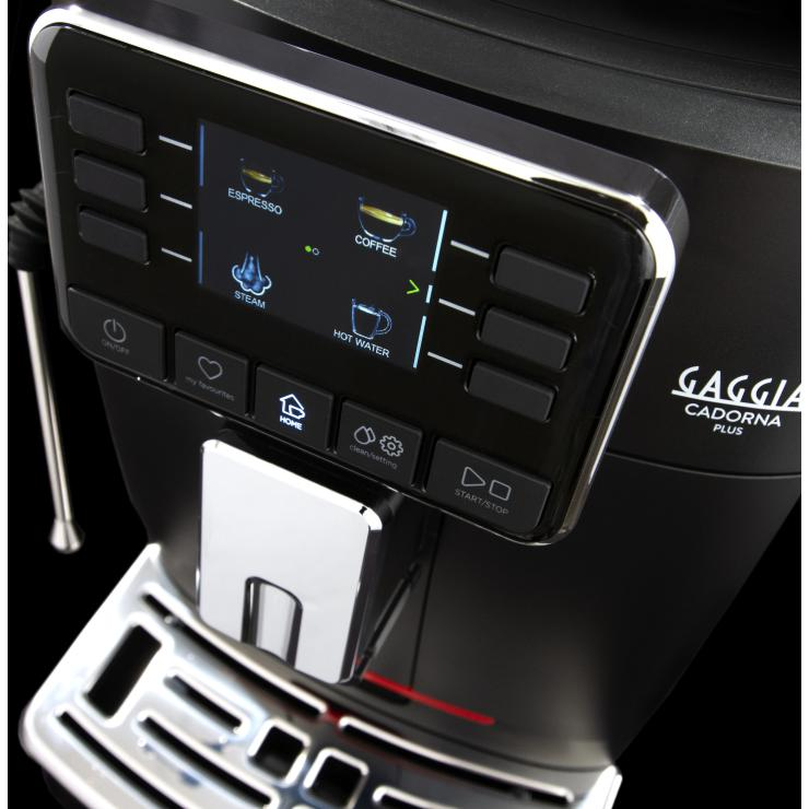 Gaggia Cadorna Barista Plus Automatic Espresso Machine Colour Digital Screen Canada