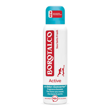 Borotalco - Active Deodorant Spray 48 Hour Sea Salts Fresh (150mL)
