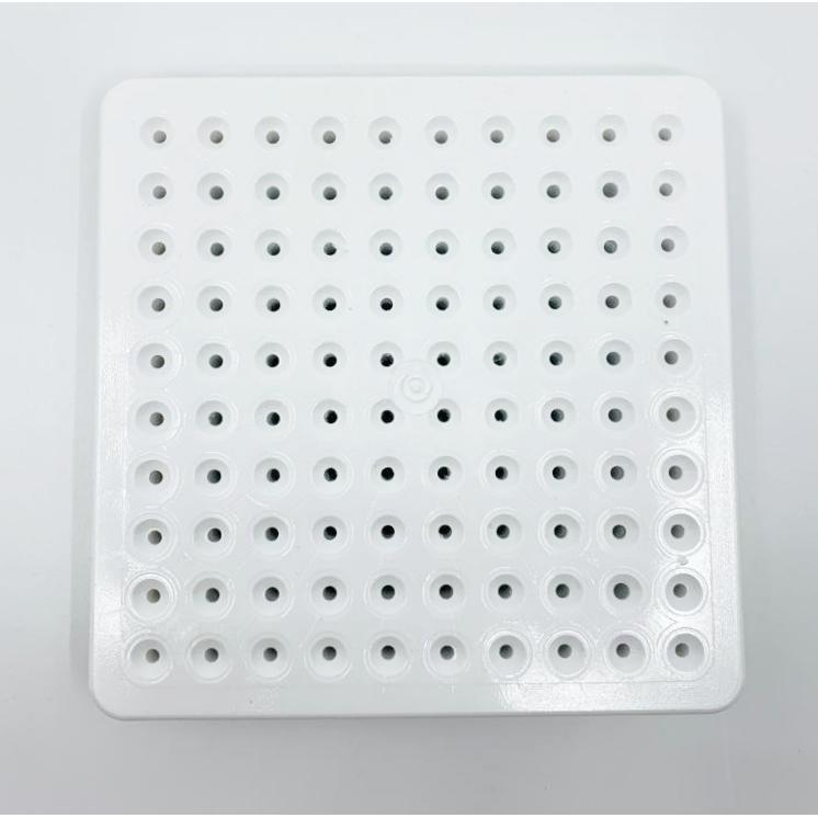 Cubo Grid White Base OR Top