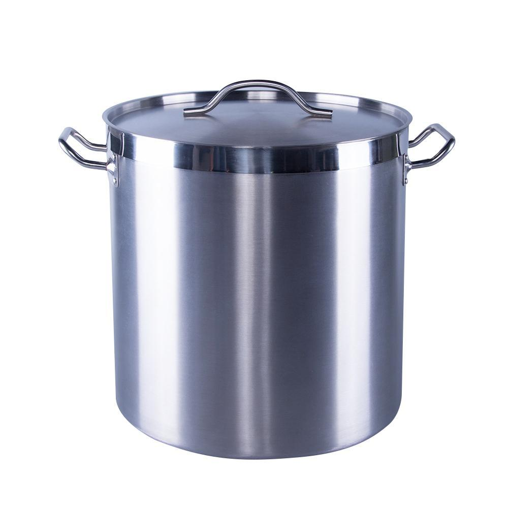 New Commercial Quality Stainless Steel Pot - 71 L / 75 Qt